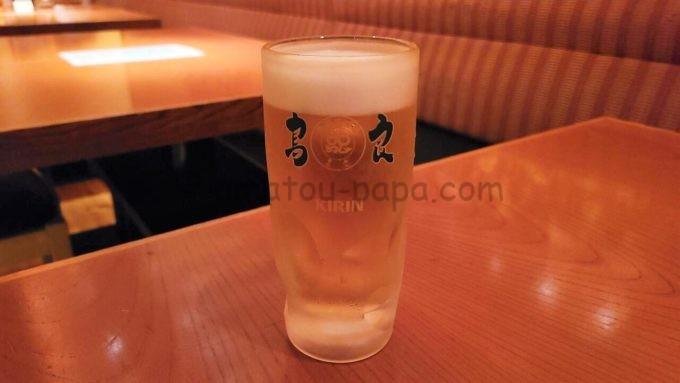 鳥良のビール