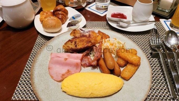ヒルトン東京の朝食