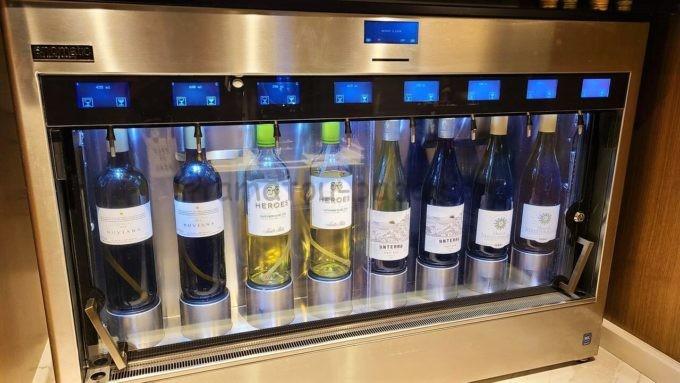 ヒルトン東京のエグゼクティブラウンジのワイン