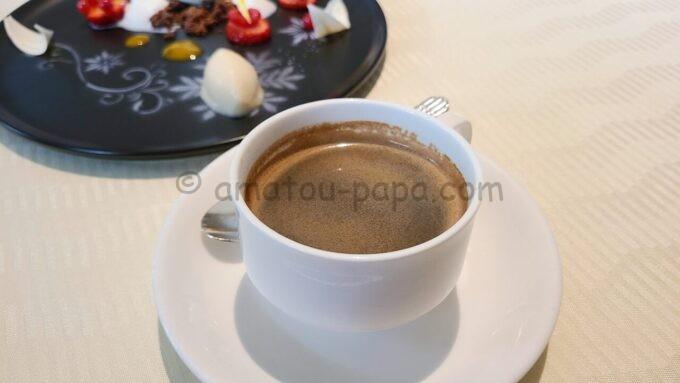 オチェーアノ(OCEANO)のコース料理「コーヒー」