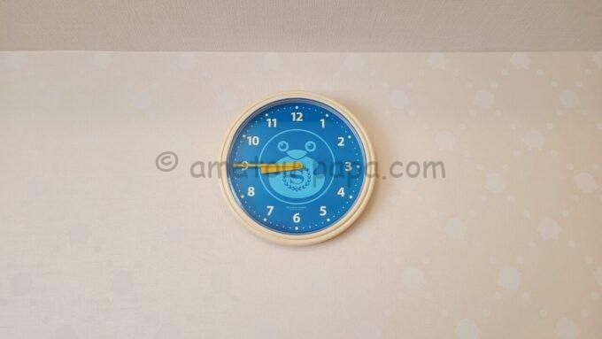 シェラトン・グランデ・トーキョーベイ・ホテルのファミリープレミアムルーム(トレジャーズルーム)に設置されている時計