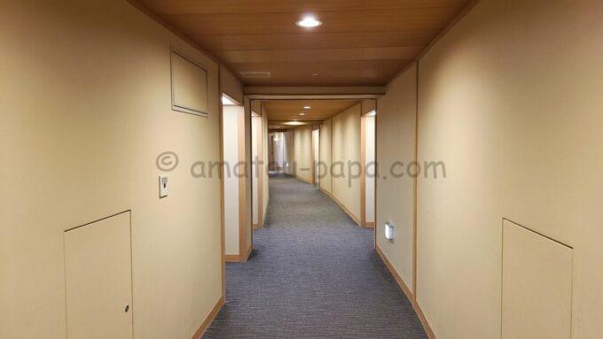 シェラトン・グランデ・トーキョーベイ・ホテル3階にあるジャパニーズスイート(和室スイート)フロア