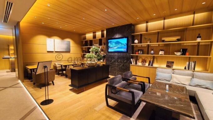 ザ・プリンス さくらタワー東京、オートグラフ コレクションのエグゼクティブラウンジの雰囲気