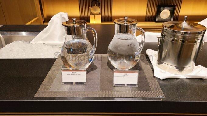 ザ・プリンス さくらタワー東京、オートグラフ コレクションのエグゼクティブラウンジの常温水と冷水