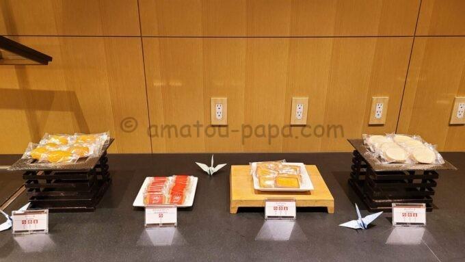 ザ・プリンス さくらタワー東京、オートグラフ コレクションのエグゼクティブラウンジのスナック