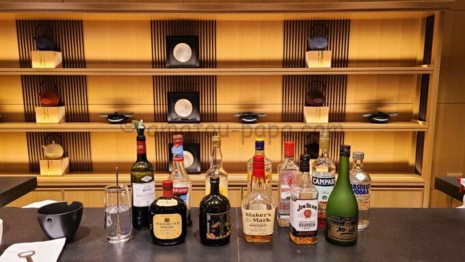 ザ・プリンス さくらタワー東京、オートグラフ コレクションのエグゼクティブラウンジのカクテルタイムのウイスキー等のアルコール