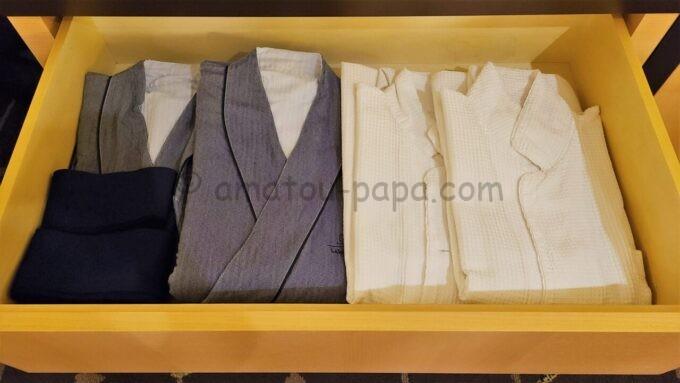 ザ・プリンス さくらタワー東京、オートグラフ コレクションのパジャマと浴衣