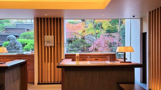 ザ・プリンス さくらタワー東京、オートグラフ コレクションのフロント(受付)