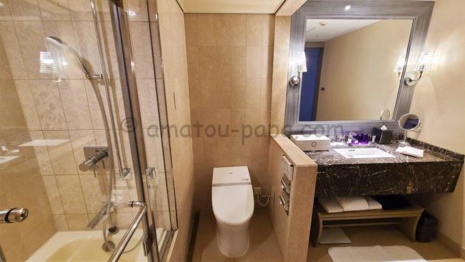 東京マリオットホテルの洗面所・トイレ・風呂
