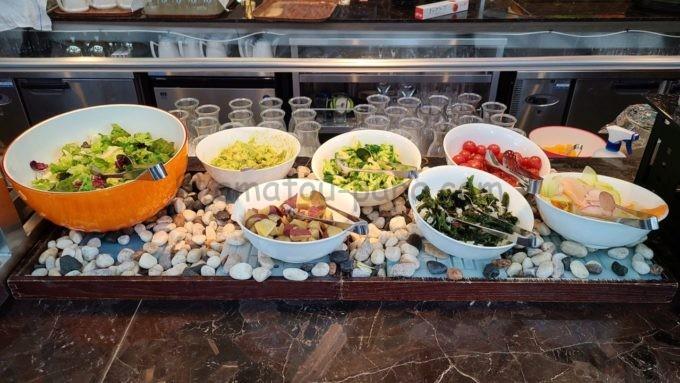 東京マリオットホテルの朝食(サラダ)