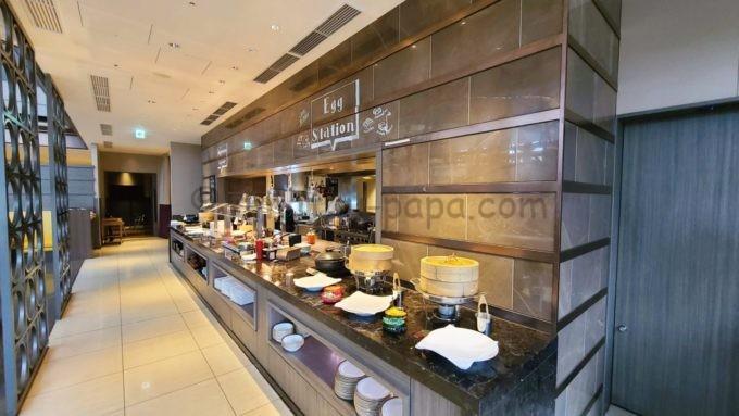 東京マリオットホテルの朝食ブッフェ