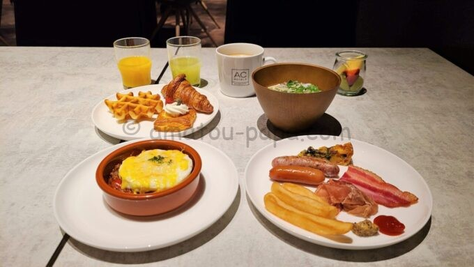 ACホテル・バイ・マリオット東京銀座 ACキッチンの朝食