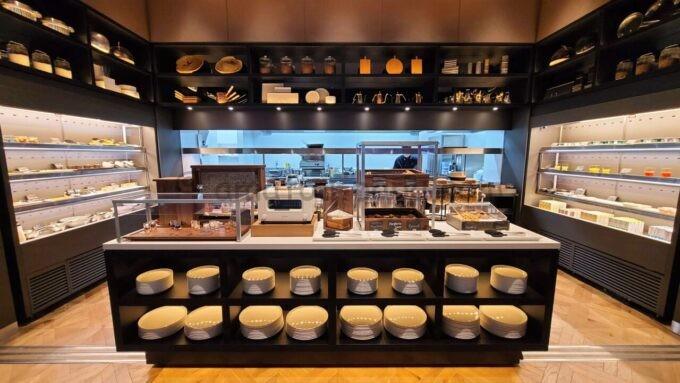 ACホテル・バイ・マリオット東京銀座 ACキッチンの朝食ブッフェの雰囲気