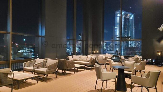 ACホテル・バイ・マリオット東京銀座のプライムスーペリアキングルームからの夜景と雰囲気