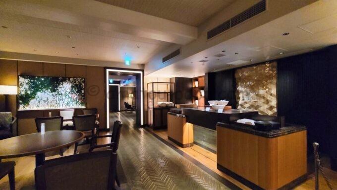 グランドプリンスホテル新高輪のクラブラウンジ(CLUB LOUNGE)の雰囲気