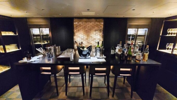 グランドプリンスホテル新高輪のクラブラウンジ(CLUB LOUNGE)のカクテルタイムのアルコール