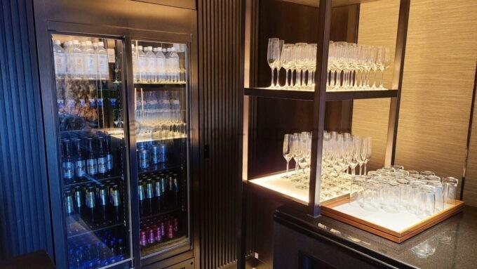 グランドプリンスホテル新高輪のクラブラウンジ(CLUB LOUNGE)のビールなどの飲み物