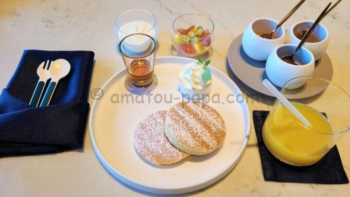 メズム東京、オートグラフ コレクションの朝食「パンケーキ」