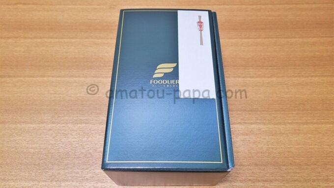 エスフーズ株式会社の株主優待品が入っている箱