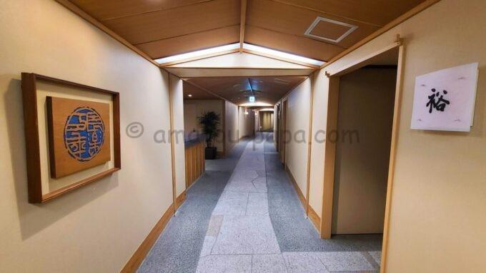 シェラトン・グランデ・トーキョーベイ・ホテルの和室スイートルームフロア