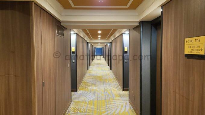 シェラトン・グランデ・トーキョーベイ・ホテルのパークウイングルームフロア