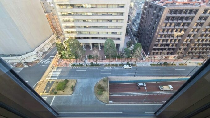 ACホテル・バイ・マリオット東京銀座のプライムスーペリアキングルームからの眺望