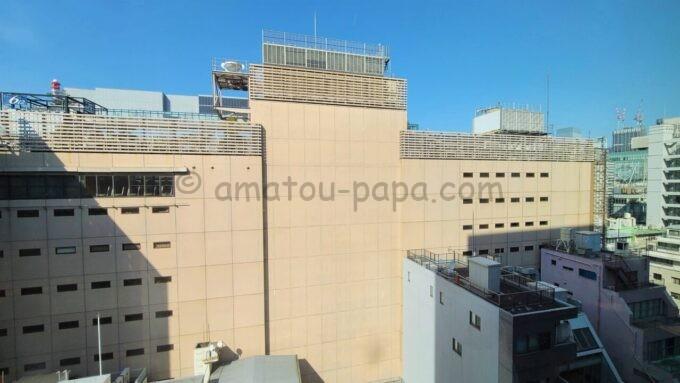 ACホテル・バイ・マリオット東京銀座のプライムスーペリアツインルームからの眺望