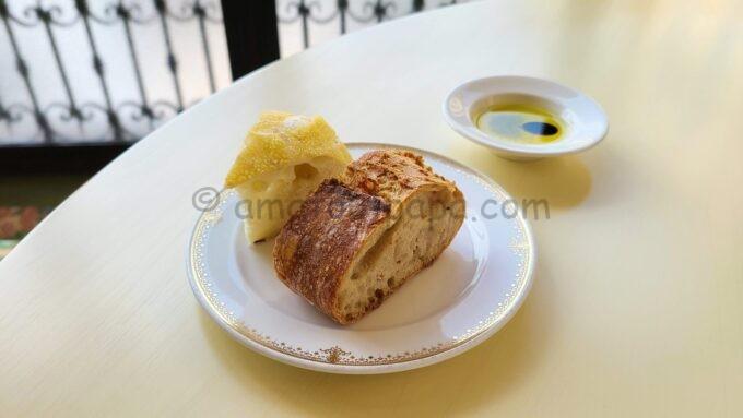 ベッラヴィスタ・ラウンジのパン