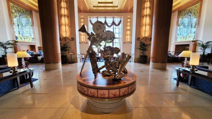 ディズニーアンバサダーホテルのロビーラウンジ