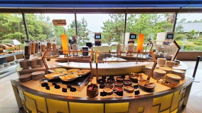ヒルトン東京ベイの朝食会場「ザ・スクエア」のBread Station(ブレッドステーション)