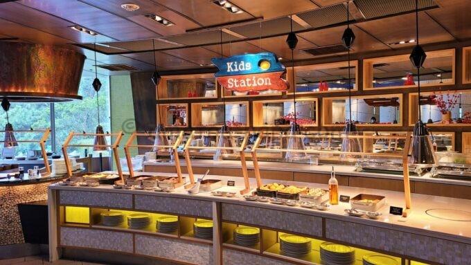 ヒルトン東京ベイの朝食会場「ザ・スクエア」のKids Station(キッズステーション)