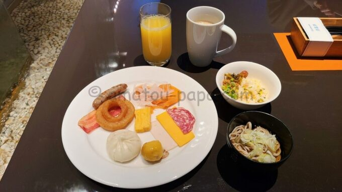 ヒルトン東京ベイのザ・スクエアでの朝食