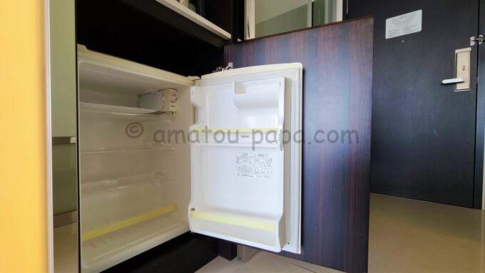 ヒルトン東京ベイのセレブリオセレクトの冷蔵庫