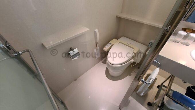 ヒルトン東京ベイのセレブリオセレクトのトイレ