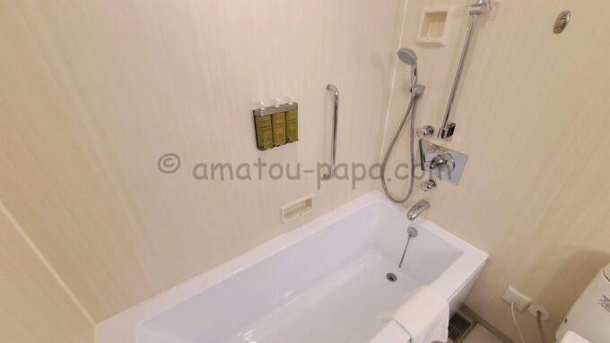 ヒルトン東京ベイのファミリーハッピーマジックルームのお風呂