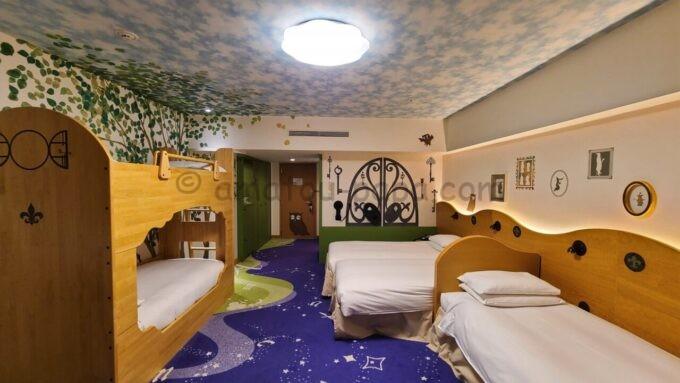 ヒルトン東京ベイのファミリーハッピーマジックルームの雰囲気