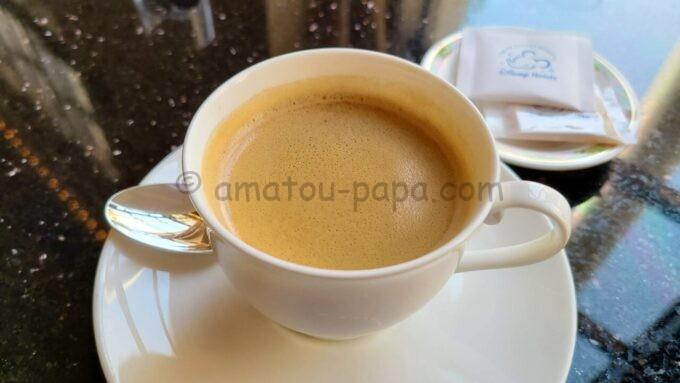 ハイピリオン・ラウンジのコーヒー