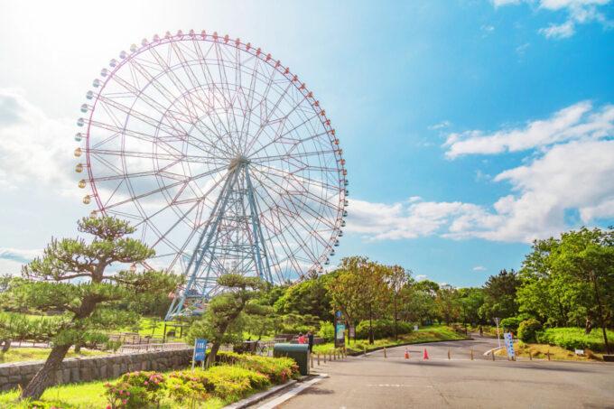 ダイヤと花の大観覧車(葛西臨海公園)