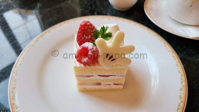 ドリーマーズ・ラウンジのケーキセット(ショートケーキ)