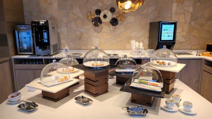 グランドニッコー東京ベイ 舞浜のニッコーラウンジの軽食(カクテルタイム)