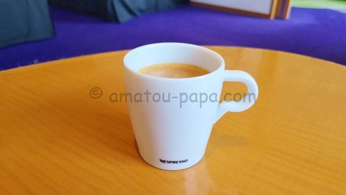 ヒルトン東京ベイ ハッピーマジックスイートのコーヒー