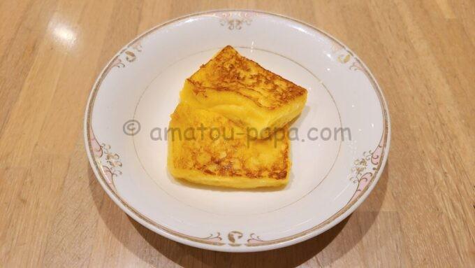 ホテルオークラ東京ベイの朝食(フレンチトースト)