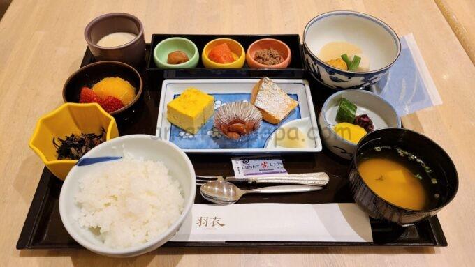 ホテルオークラ東京ベイの和定食