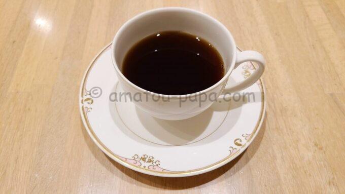 ホテルオークラ東京ベイの朝食(コーヒー)