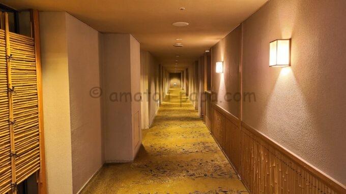 ホテルオークラ東京ベイの3階フロア(和室・和室スイートルーム)