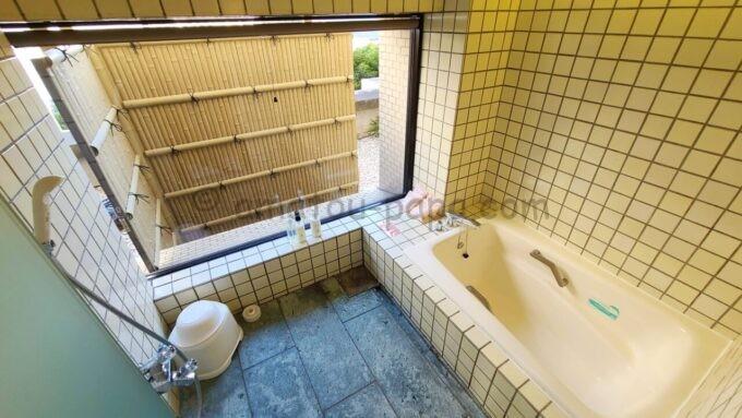 ホテルオークラ東京ベイの和室スイートルームの風呂