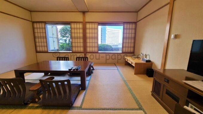 ホテルオークラ東京ベイの和室スイートルーム