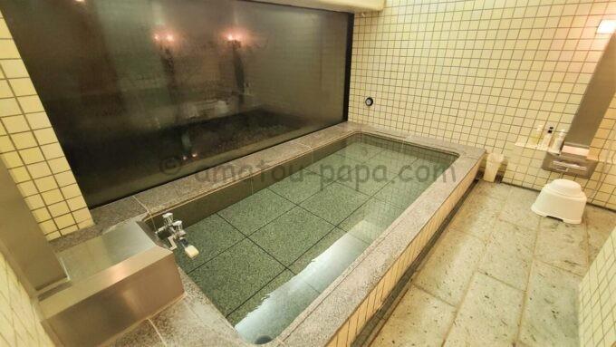 ホテルオークラ東京ベイの貸切風呂