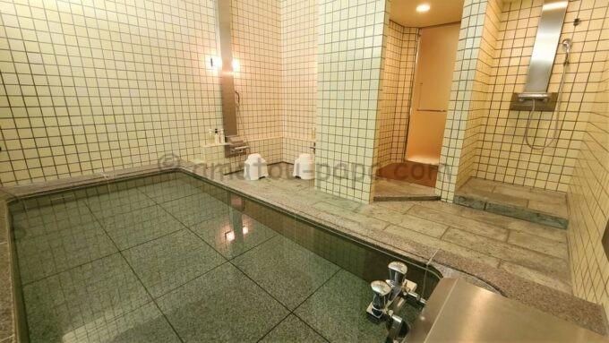 ホテルオークラ東京ベイの貸切風呂の雰囲気