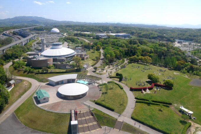 愛・地球博記念公園(モリコロパーク)の大観覧車からの眺め